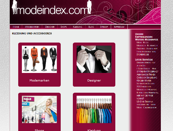 Screen-Modeindex
